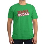 Iraq Rocks Men's Fitted T-Shirt (dark)