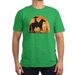 Mexican Horse Men's Fitted T-Shirt (dark)