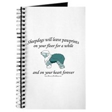 Sheepdog Pawprints Journal