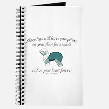 Sheepdog Pawprints Journal