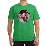 Fragile Men's Fitted T-Shirt (dark)