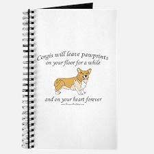 Corgi Pawprints Journal