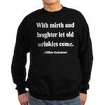Shakespeare 9 Sweatshirt (dark)