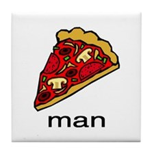 PIZZA Tile Coaster