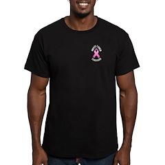Breast Cancer Survivor Men's Fitted T-Shirt (dark)
