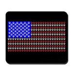 Cat Tracks Flag Mousepad