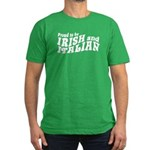 Proud to be Irish and Italian Men's Fitted T-Shirt