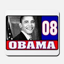 Obama in 2008 Mousepad