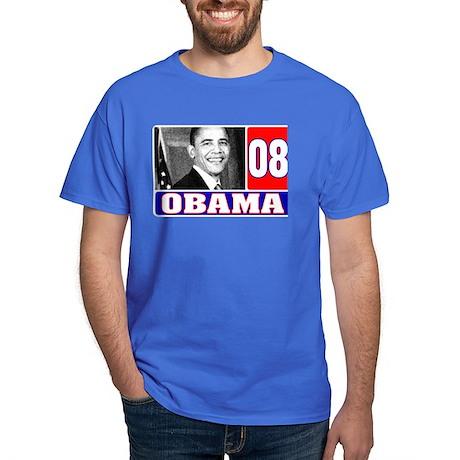 Obama in 2008 Dark T-Shirt