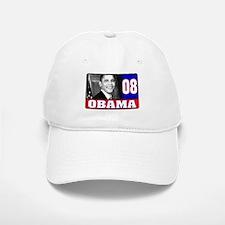 Obama in 2008 Baseball Baseball Cap