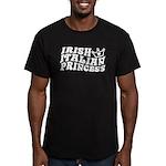 Irish Italian Princess Men's Fitted T-Shirt (dark)