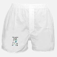 Cute Think green Boxer Shorts