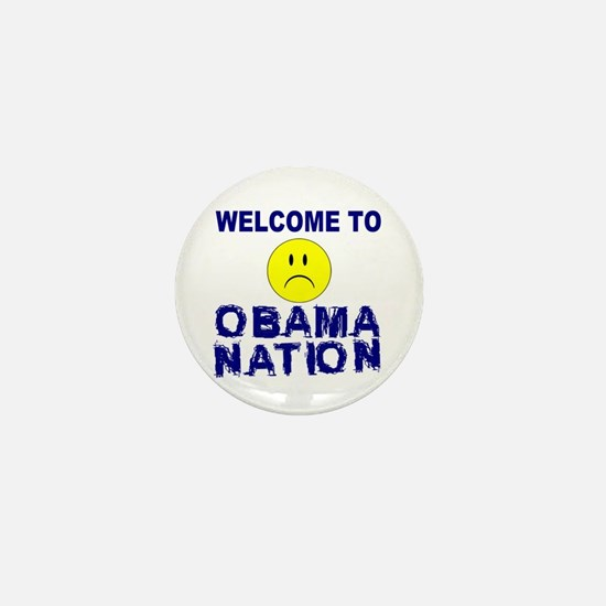 ObamaNation Mini Button