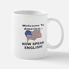 Now Speak English Mug