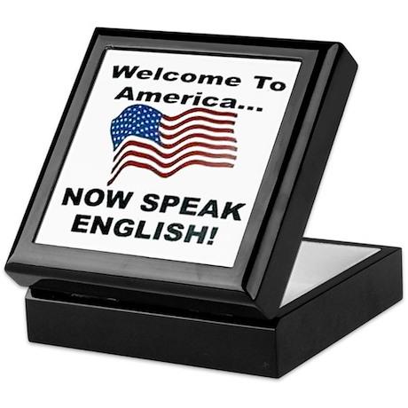 Now Speak English Keepsake Box