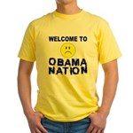 ObamaNation Yellow T-Shirt