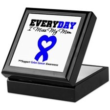 ColonCancerHeart Mom Keepsake Box