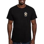 Endometrial Cancer Survivor Men's Fitted T-Shirt (