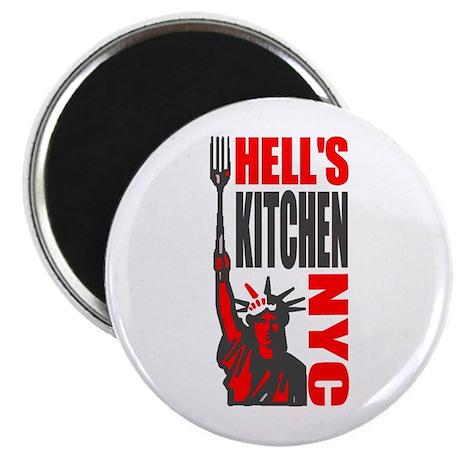 Hells Kitchen Merchandise Magnet
