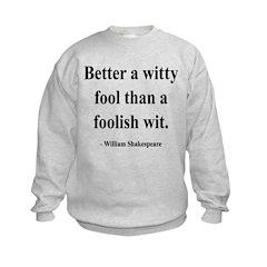 Shakespeare 11 Sweatshirt