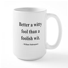 Shakespeare 11 Large Mug