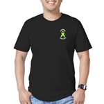 Lymphoma Survivor Men's Fitted T-Shirt (dark)