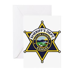 Butler County Sheriff Greeting Cards (Pk of 10)