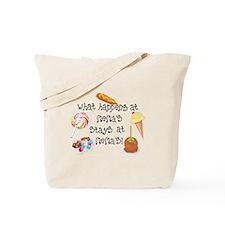 What Happens at Mema's... Tote Bag