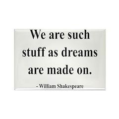 Shakespeare 12 Rectangle Magnet