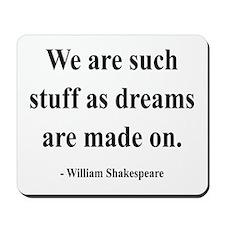 Shakespeare 12 Mousepad