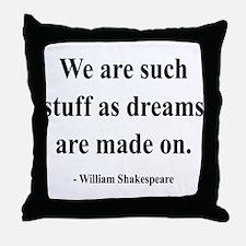 Shakespeare 12 Throw Pillow