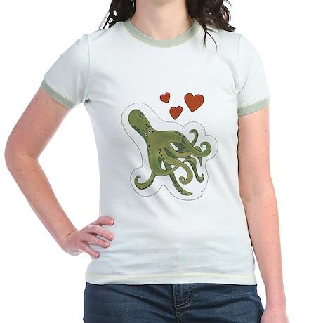 Jr. Ringer Octopus T-Shirt