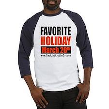 Favorite Holiday Baseball Jersey