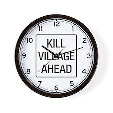 Kill, Ireland Wall Clock