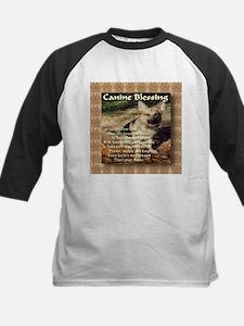 Canine Blessing Kids Baseball Jersey