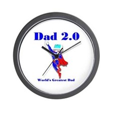 Dad 2.0 Wall Clock