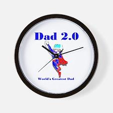 Dad 2.0 Wall Clock