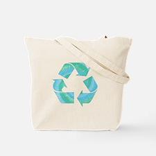 Tie Dye Recycle Tote Bag