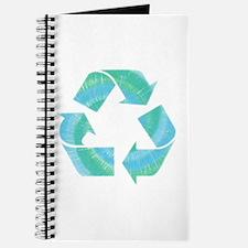 Tie Dye Recycle Journal