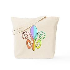 Festive Fleur de lis (color) Tote Bag