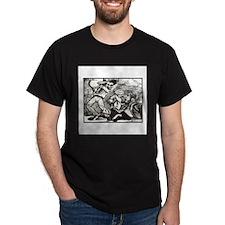 Calavera Bar Fight T-Shirt