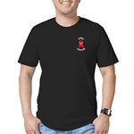 Stroke Survivor Men's Fitted T-Shirt (dark)
