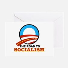 """The Road To Socialism"" Greeting Card"
