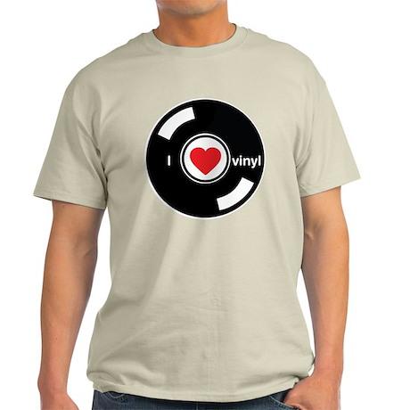 I Heart Vinyl Light T-Shirt