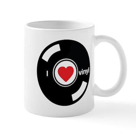 I Heart Vinyl Mug