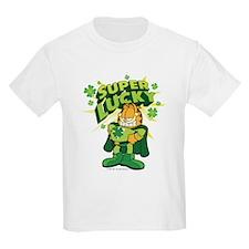 Super Lucky Garfield T-Shirt