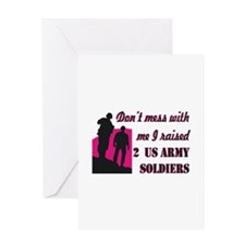 Unique Proud army mom Greeting Card