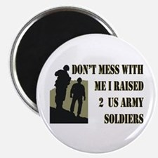 Cool Us army mom Magnet