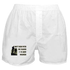 Cute Proud army dad Boxer Shorts