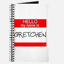 """""""Gretchen"""" Journal"""
